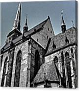 St. Bartholomew Cathedral - Pilsen Canvas Print