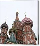 St. Basil's Cathedral 14 Canvas Print