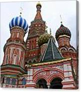 St. Basil's Cathedral 18 Canvas Print