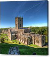 St Davids Cathedral 3 Canvas Print