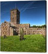 St Davids Cathedral 6 Canvas Print