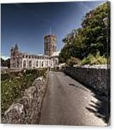 St Davids Cathedral Pembrokeshire 2 Canvas Print
