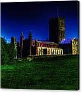 St Davids Cathedral Pembrokeshire Glow Canvas Print