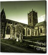 St Davids Cathedral Canvas Print
