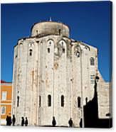 St. Donatus Church In Zadar Canvas Print