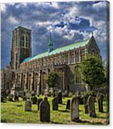 St Edmund King And Martyr Southwold Canvas Print