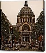 Paris, France - St. Etienne Canvas Print