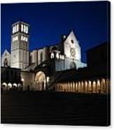 St. Francis Basilica Canvas Print