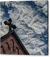 St. George Against The Dragon Canvas Print