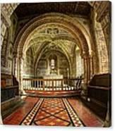 St Georges Church At Hampnett Gloucestershire Canvas Print