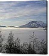 St Helens Above Clouds Canvas Print
