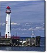 St. Ignace Lighthouse Canvas Print
