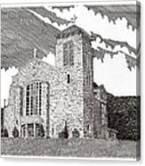 St. Joseph Apache Cathedral Canvas Print