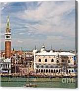 St. Marks Square Venice Canvas Print