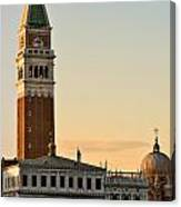 St Marks Sunset Canvas Print