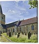St Mary Lamberhurst Canvas Print