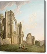St Mary's Abbey -york Canvas Print