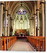 St. Mary's Basilica Halifax Canvas Print