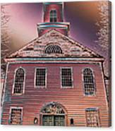 St. Mary's Episcopal Church In Pastel Canvas Print