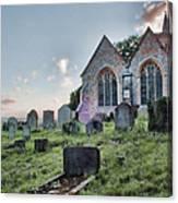 St Michael's East Peckham Canvas Print