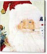 St Nick Canvas Print