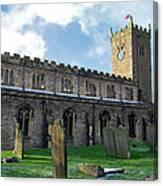 St Oswald's Church - Askrigg Canvas Print