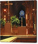 St. Patrick's Cathedral  Canvas Print