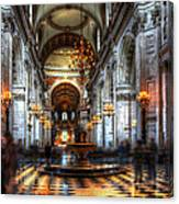 St Paul Cathedral Interior Canvas Print
