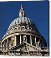 St Pauls Cathedral London Canvas Print