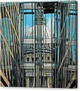 St Pauls Compressed Canvas Print