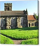 St Peter's Church - Hartshorne Canvas Print