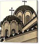 St Piasius Canvas Print