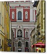 St Stanislaus Church Exterior Canvas Print