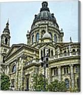 St Stephen Basilica   Budapest Canvas Print