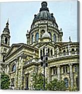 St Stephens Cathedral - Budapest Canvas Print
