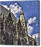St Stephens Cathedral - Vienna Canvas Print