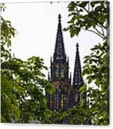 St Vitus Cathedral - Prague Canvas Print