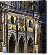 St Vitus Cathedral Entrance Canvas Print