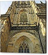 St Vitus Cathedral Prague - The Realms Of 'non-being' Canvas Print