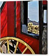 Stagecoach View Canvas Print