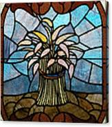 Stained Glass Lc 11 Canvas Print