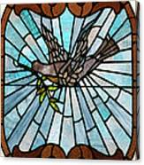 Stained Glass Lc 14 Canvas Print