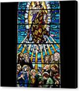 Stained Glass Pc 01 Canvas Print