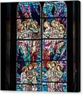 Stained Glass Pc 05 Canvas Print