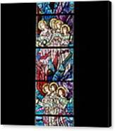 Stained Glass Pc 07 Canvas Print