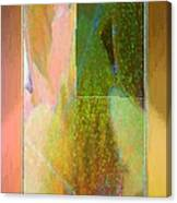 Stained Glass Shower Canvas Print