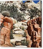 Staircase Stones Canvas Print