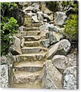 Staircase To Eagle Falls Lake Tahoe Canvas Print