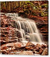 Stairs Falls Canvas Print