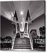 Stairs Of Art Canvas Print